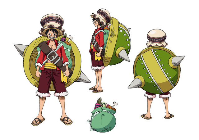 One Piece: Stampede _ Character Designs Revealed - Exmanga