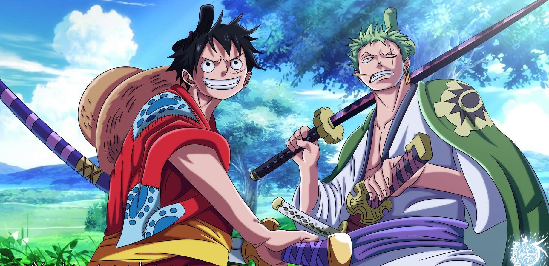 Iphone One Piece Wano Wallpaper Hd Doraemon