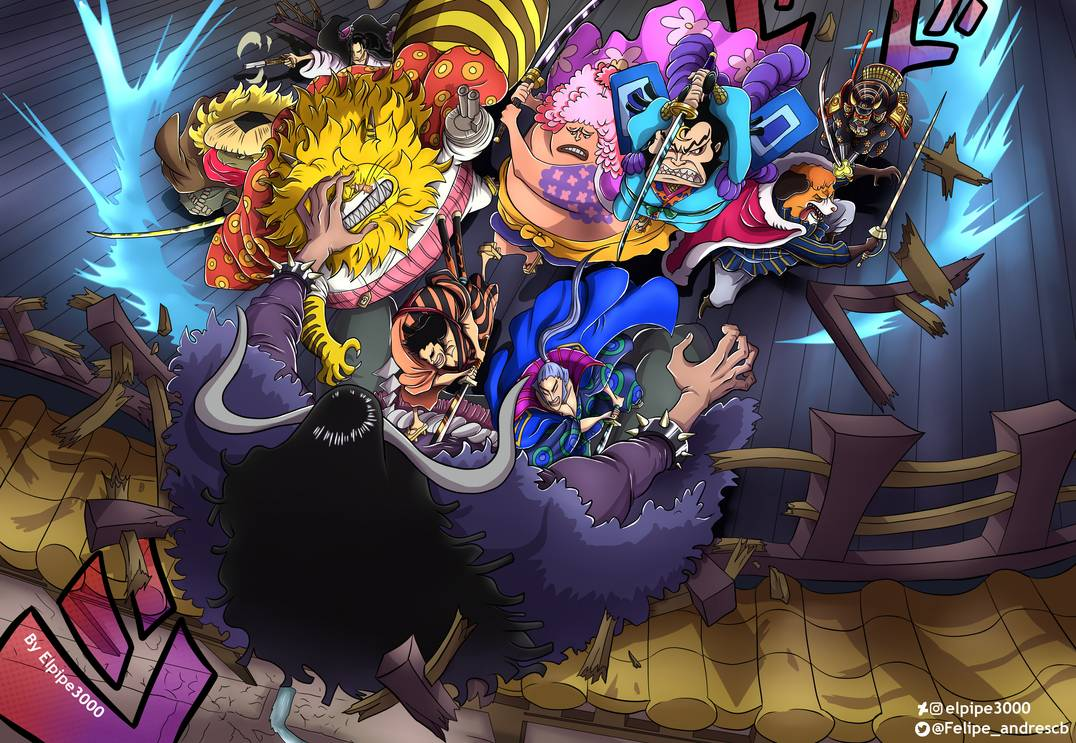 One Piece Chapter 988 Spoilers Kaido Vs Scabbards